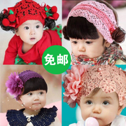 Love Korean baby hair band girls wig hair Baby Headband false fringe Photo Props in Korea