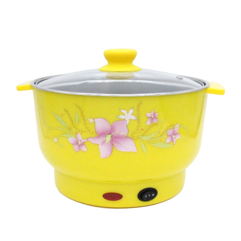 Tatsu pass multi cooker electric steamer electric boiling electric cooking Hot pot multi-purpose pot dormitory small electric rice cooker