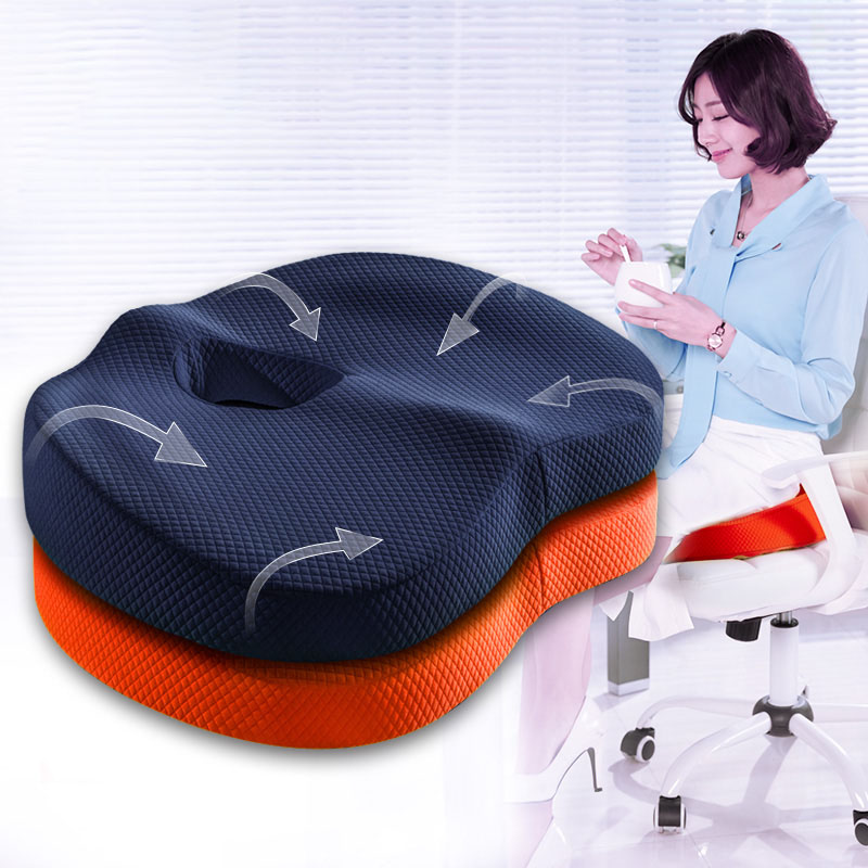 Summer air cushion chair cushion cushion thick Ass Ass office slow rebound memory cotton
