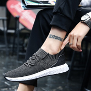 In the summer of 2017 the new trend of Korean male sports shoes casual shoes men's shoes breathable shoes in autumn