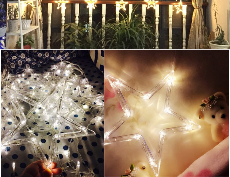 Led lamps waterproof lights flashing all over the sky star Lantern Festival birthday party wedding decoration