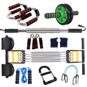 Fitness equipment set multifunctional training exercise chest chest expander male arm force rod arm apparatus