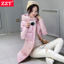 2016 winter warm coat women long Korean thicken hooded slim cotton clothing in womens blouses plus size coat flows