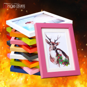 Wood wall frame table 7 inch 6 inch 5 inch 8 inch 1012 inch IKEA A4 creative child photo frame frame