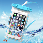 Underwater camera, mobile phone waterproof bag, hot spring swimming mobile phone, universal iphone7plus touch screen bag, 6S diving Kit