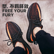 Men's summer breathable canvas shoes 350V2 shoes coconut net male men and women casual shoes running shoes men