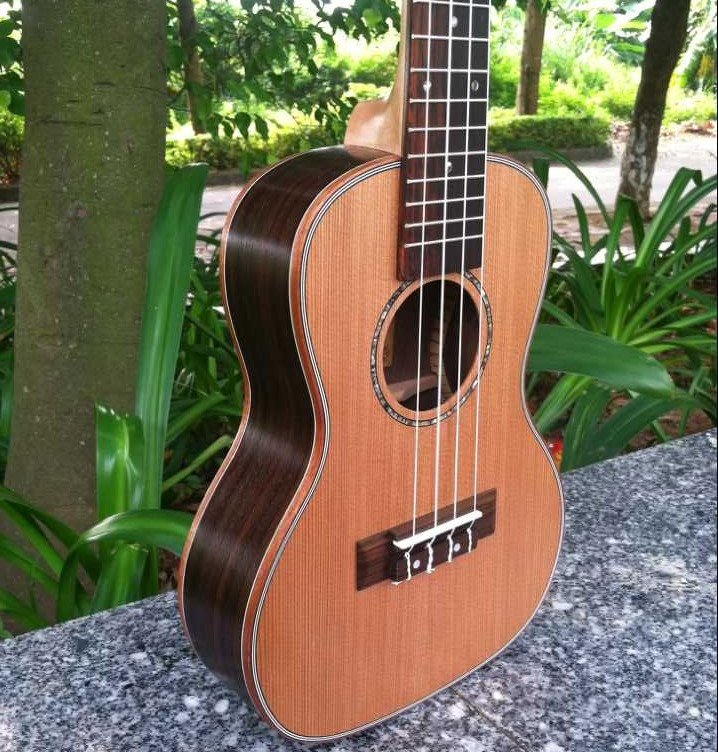 Especially in the kerry Small Hawaiian guitar 21 and 26 inch veneer Mahogany zebra wood Rosewood lovesickness