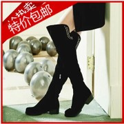 2017 new winter boots small size 33 rivet female knee boots boots high boots boots size 41-44
