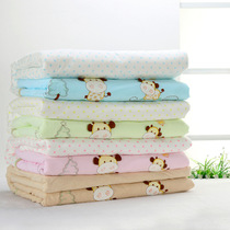 Newborn baby quilt baby quilts kindergarten spring small quilt padded winter was detachable liner