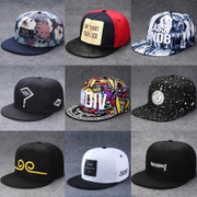 Hat man summer hip-hop cap tide baseball cap Korean fashion all-match spring outdoor female flat hat cap couple