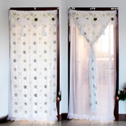 Mail custom made cotton door curtain, leather air conditioner curtain, thickening wind protection, thermal insulation, winter insulation, waterproof partition curtain
