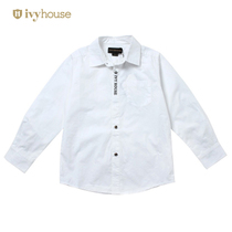 Ivyhouse Ivy League gentleman kids boys long-sleeve fashion shirt children on spring and autumn shirt new