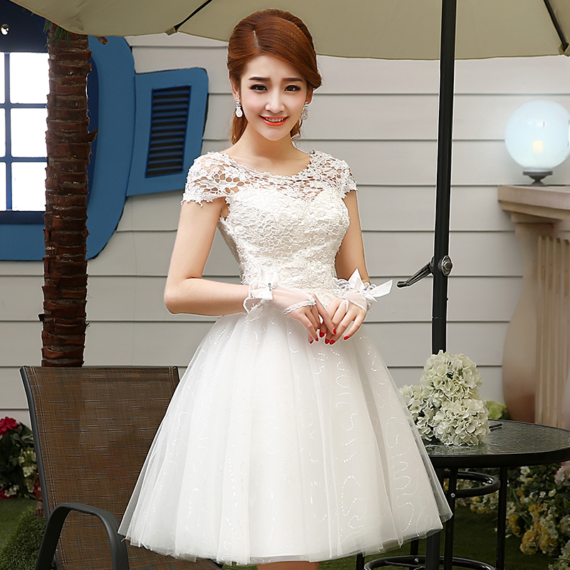 The new autumn 2015 Thousand layer sand wedding dresses Clothing fashion elegant bridesmaid dresses hosted a birthday party