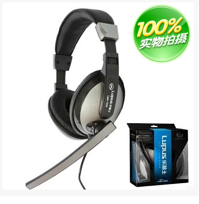 Le PU headset LPS-1502 big headset ear Headset Genuine stereo headphones computer headset