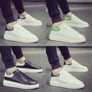 Spring increased male shoes sports shoes shoes shoes Korean male student muffin male white shoe lovers