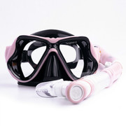 Anti fog goggles myopia adult snorkeling equipment COCAS snorkeling Sambo breathing tube full dry suit