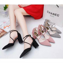 Cross strap high heels shoes with a fine black suede Sexy Nude shoes pink lace wedding shoes