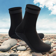 Diving Snorkeling shoes socks socks thick warm slip coral 3MM adult male and female equipment