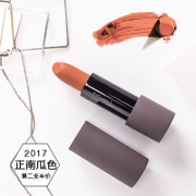 Dirty orange pumpkin Color Lipstick lasting not easy touch the cup does not bite lips aunt grapefruit moisturizing bean decolorization matte