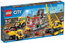 2015 authentic LEGO LEGO City series of puzzle assembling toys large construction site 60076