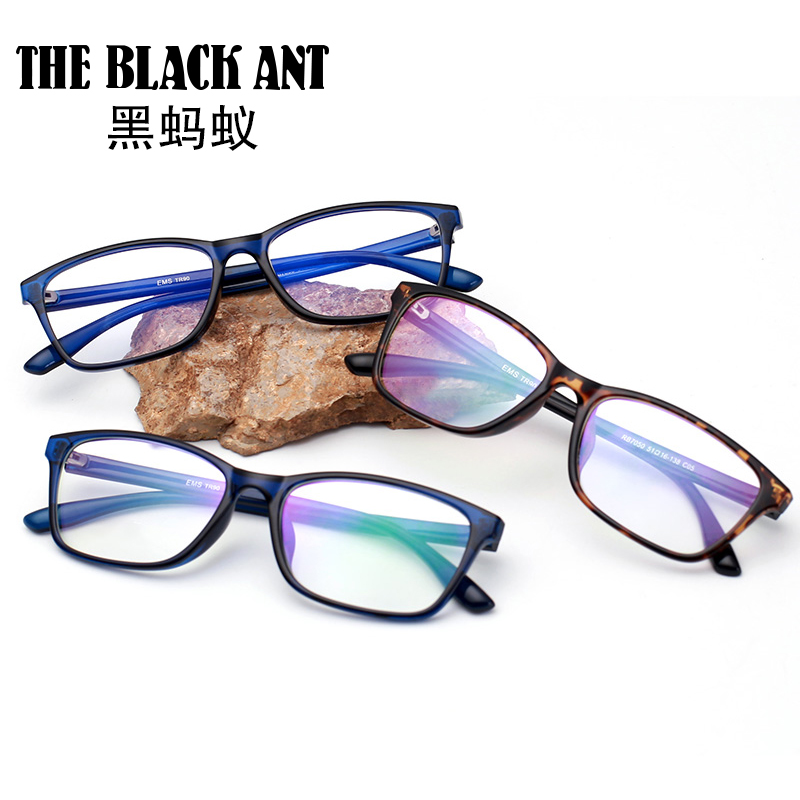 Black ant radiation-proof glasses lens preventing blu-ray online computer game female male tidal flat using the anti-fatigue goggles