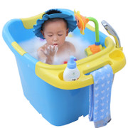 New baby thermal insulation, super large thickening plastic children's pad, new material plus cotton, swimming bucket, bath bucket, bath bubble