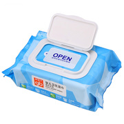 Tmall supermarket, good baby, baby wipes, sea water, baby wet wipes, 80 with cover, U3202