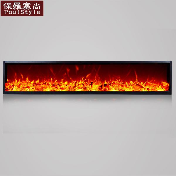 定制电子壁炉芯 COB/LED仿真火焰嵌入式欧式壁炉定做装饰取暖炉芯
