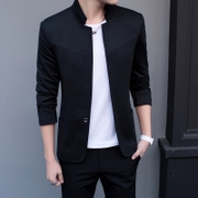 Spring and autumn men's small suit jacket casual suit male Korean tunic youth size all-match slim jacket