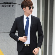 Spring and autumn season, men's casual suit, business suit, professional attire, men's slim, small suit, single Western coat, single coat