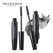 The Face Shop belly black rod Mascara 2 Korea slim dense curl not dizzydo genuine