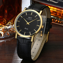 Acer Stewart's belt fashion trend of men's leather waterproof quality ultra-thin quartz watch men watch
