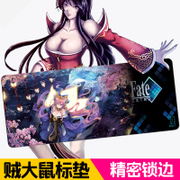 Mouse pad super large cartoon game sports keyboard pad trumpet watch pioneer personalized desk pad thickening CF