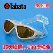 Tabata anti fog goggles frame comfortable leisure snorkeling goggles swimming spa swimming glasses and clear