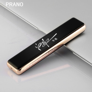 USB lighter charge creative electric wire windproof cigarette lighter lighter men customized lettering gift DIY