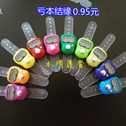 A finger ring counter with special offer Buddha counter flow counter with battery