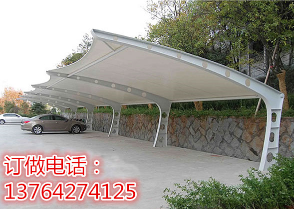 Factory direct membrane parking shed, bicycle shed, film processing, landscape studio, car shed