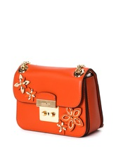 Michael, kors/, Mike, &middot, Ms. Kors, orange bag, 30H6GFAL5T-, 100% cowhide