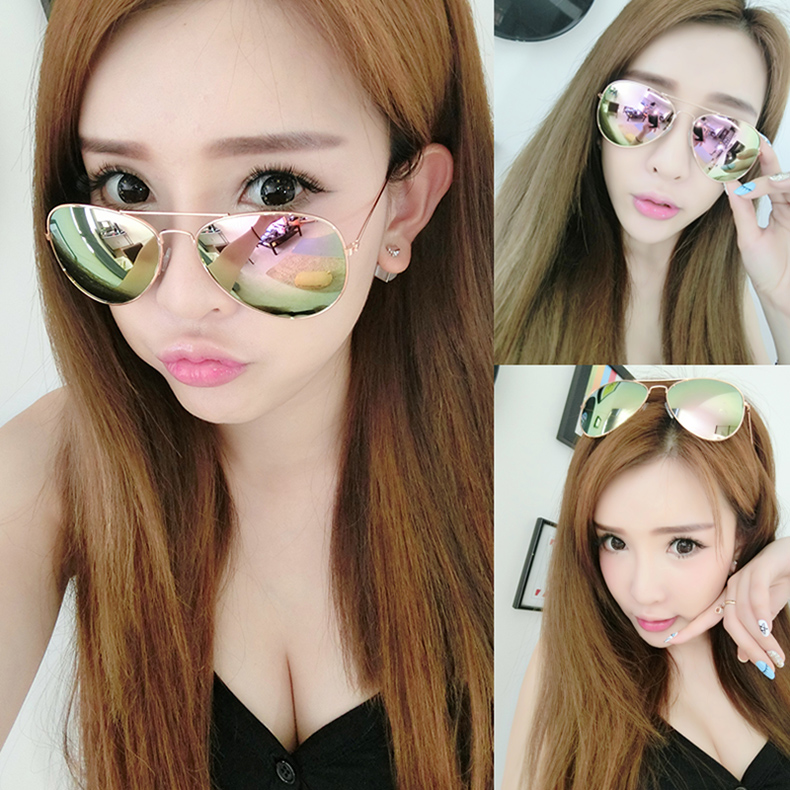 Change color glasses, men's women polarized sunglasses, personalized wear-resistant glass lenses, comfortable driving, driver mirror match