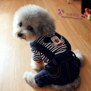 Spring and autumn and summer clothes Teddy pet dog clothes poodle puppy puppy dog milk four winter clothes clothes
