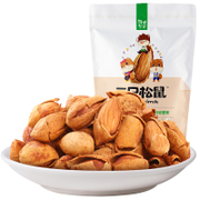 Three squirrel nut daily hand stripping 120g snack roasted almond almond