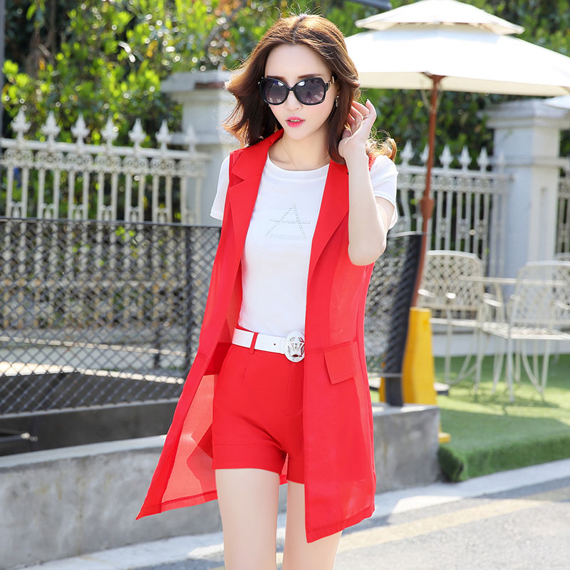 Luxury fashion boutiques new summer brother love Korean clothing counter two piece suit dress
