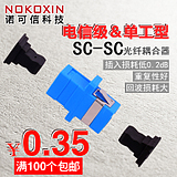 Connaught credibility simplex SC flange fiber coupler flange connector fiber - optic adapter carrier - class General