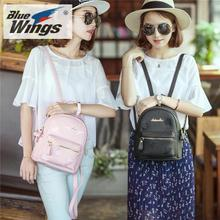 Backpack female Korean fashion personality all-match small fresh leisure bag lady 2017 new tide Backpack Bag
