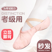 Children dance shoes adult national ballet shoes women's soft bottom shoes dancing Yoga Kungfu shoes pink cat claw shoes