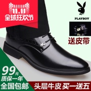 The winter men's shoes, dress shoes business increased male leather shoes black tie shoes men's wedding shoes