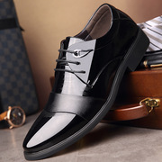 New men's Business casual shoes British department with a set of foot shoes married to work is loaded with men's shoes