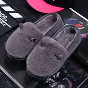 Doug winter lady shoes warm shoes soled shoes autumn Princess dipper shallow mouth shoes wear casual shoes driving shoes