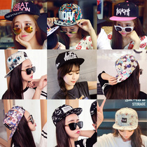 Korean hip hop Hat womens winter Baseball Cap Women Cap Hat Korea leisure Joker holiday sun visor