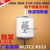 NGTC2 RS33 ceramic fuse 250A 300A 315A 350A 400A molten core insurance